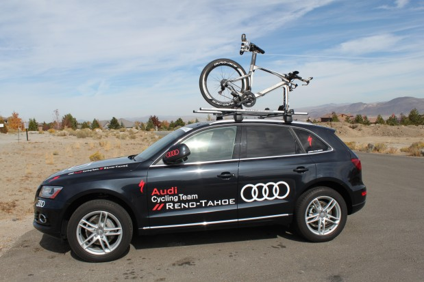 My nice ride Thank you Audi Reno and Audi Cycling Team!