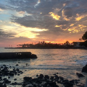 I will soon get to see the wonderful sunsets on the Big Island again.