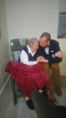 My fiancé and my great grandmother are making wedding plans.