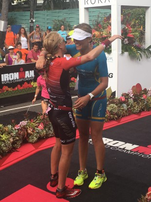 Racing is racing, everyone is a competitor. But before and after the finish, we can appreciate and congratulate each others performances.