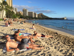 After the race, my wonderful support crew and I went for a few days to Oahu, to relax and be full blown tourists.