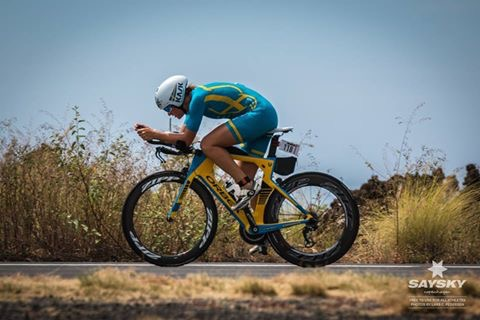 I really tried to keep being sharp on nutrition, hydration and cooling myself, and I ate more than ever before in a race, and I didn't really think it was particularly hot on the bike course.  At the turning point in Hawi, I felt very fresh, almost a bit too fresh.