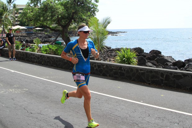 My splits gave me confidence, and I was notified that I was making a lot of ground, but I tried to focus on my self and getting everything I needed in the aid stations. Volunteers, thank you. I would not have finished without you. Photo: Australian Tri Magazine