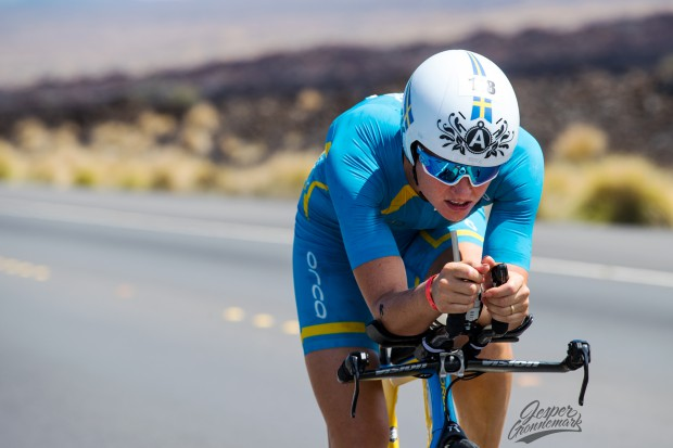 I started to push the pace a lot more coming down the hill to the final stretch back to Kona.